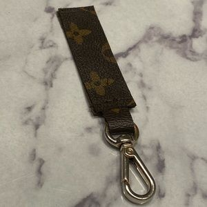 Upcycled Louis Vuitton Keychain